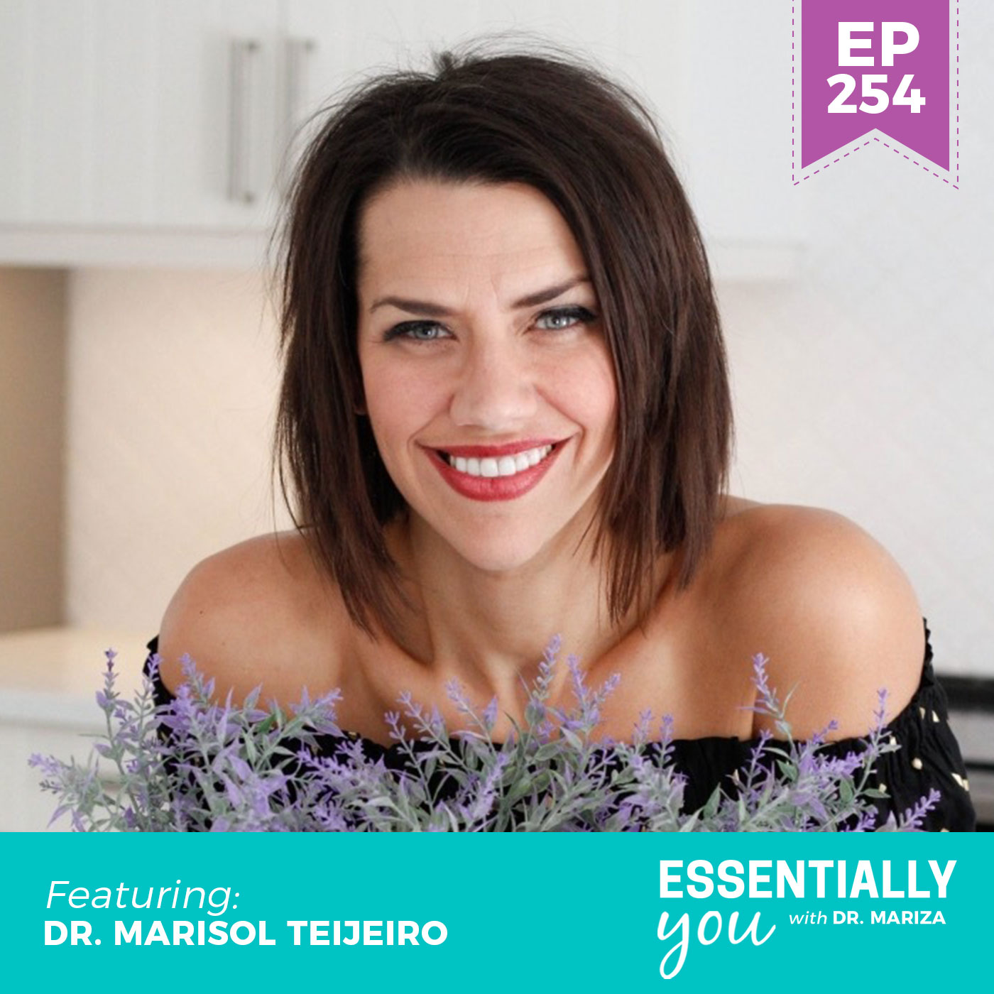 #254: Sleep Better, Poop Better, and Detox Better with Castor Oil Packs with Dr. Marisol Teijeiro