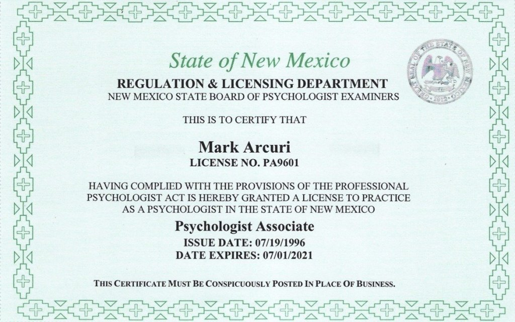 Dr Mark 2019-2021-NMPsyLicense