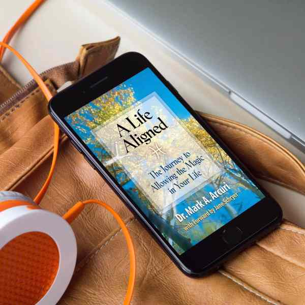 Dr Mark's A Life Aligned Audiobook Cover image