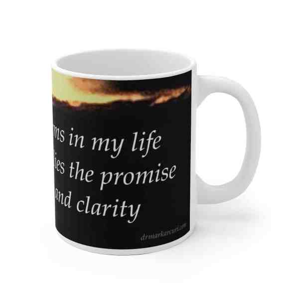 I embrace the storms in my life... -Inspirational Ceramic Mug 1