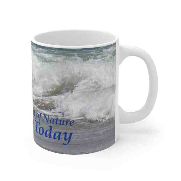 The Very Thought of Nature... -Inspirational Ceramic Mug 1