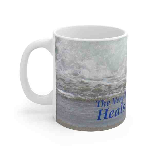 The Very Thought of Nature... -Inspirational Ceramic Mug 3