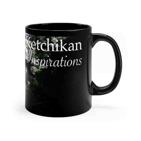 Ketchikan Inspirations -Black mug 11oz 1