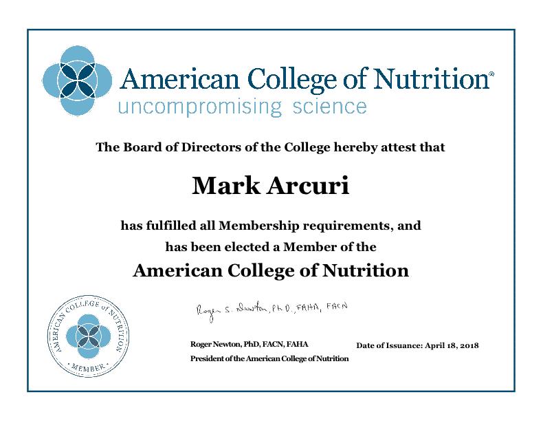 Certifications / Memberships 2