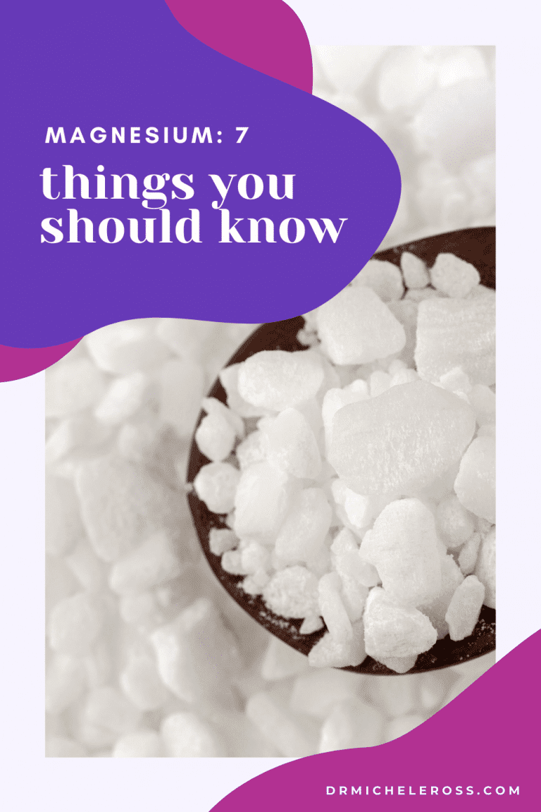magnesium mineral added to supplements or epsom salts