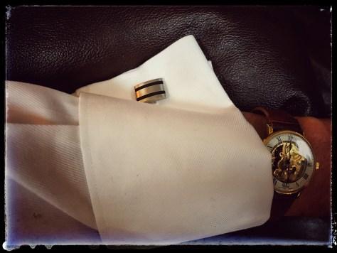 Hasek's cufflinks