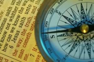 Scripture and compass