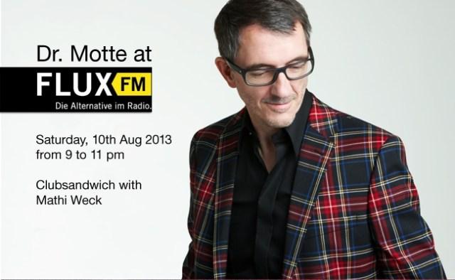 Clubsandwich with Dr. Motte @ FLUX fm