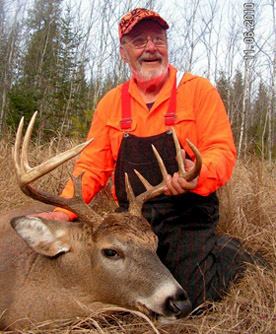 Dr. Ken Nordberg with a nice buck.