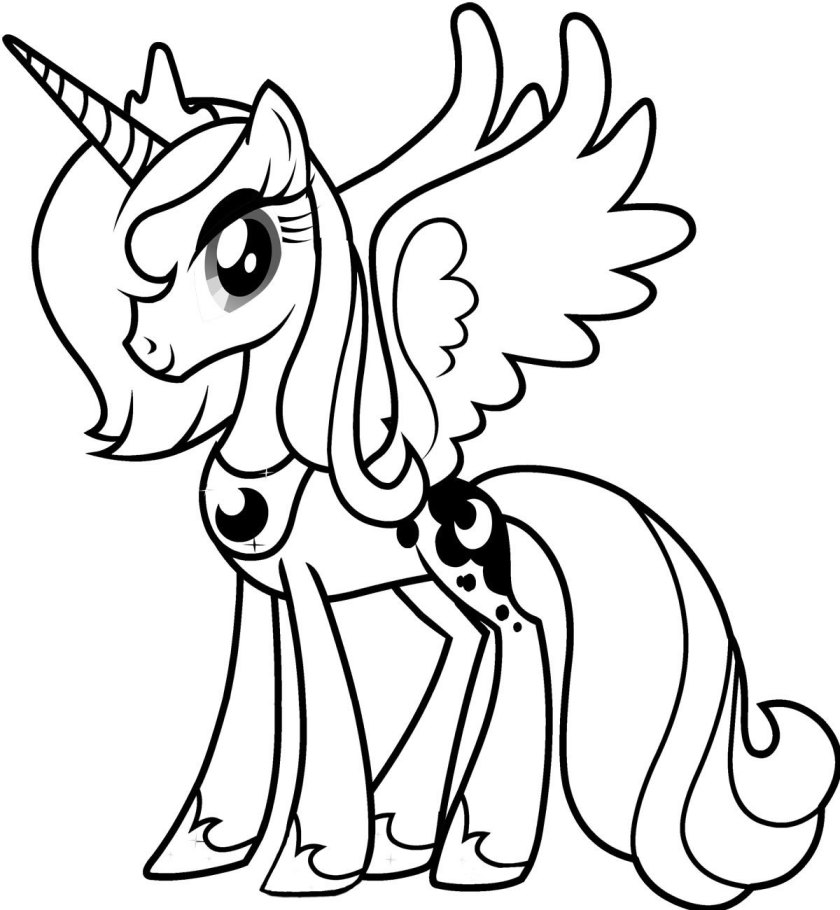my little pony coloring pages  dr. odd
