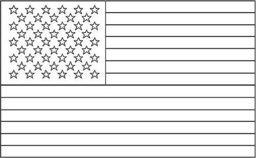 American Flag Coloring Pages 2019 Dr Odd