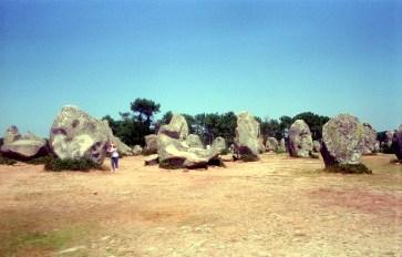 Hinkelsteine in Carnac