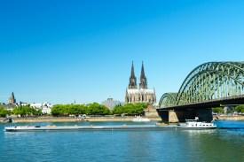 Dom und Hohenzollernbrücke