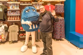 London 2017, M&M Shop