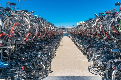 Fahrrad-Parkhaus Central Station Amsterdam