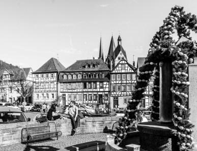 Gelnhausen, am Obermarkt