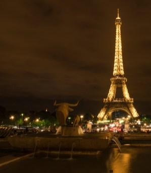 Eiffelturm, Jardins du Trocadéro