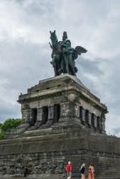 Mahnmal der Deutschen Einheit am Deutschen Eck in Koblenz