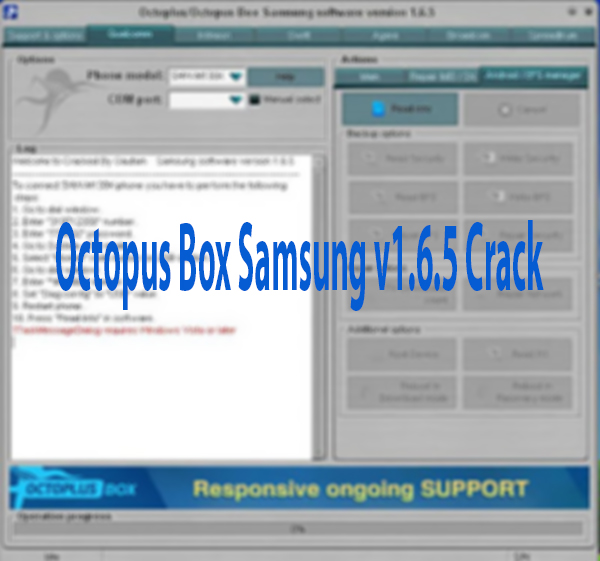 Octopus Box Samsung v1.6.5 Crack With Video