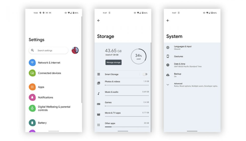 Android 12 Silky Home