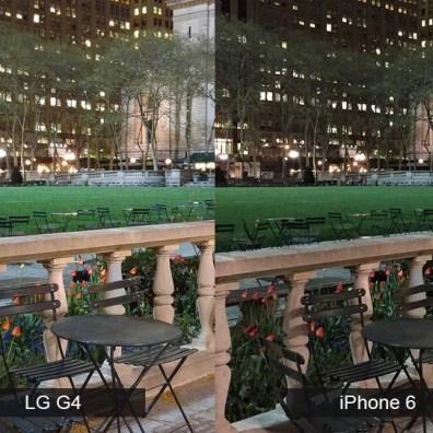 lg g4 vs iphone 6 kamera 2