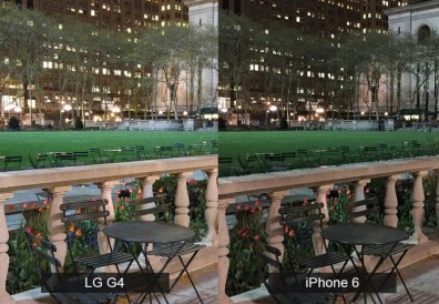 lg g4 vs iphone 6 kamera 2