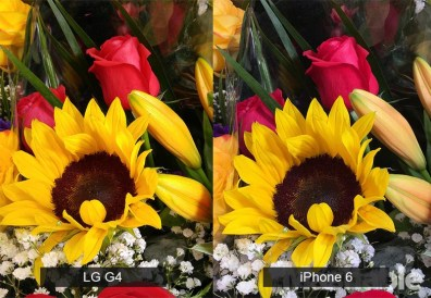 lg g4 vs iphone 6 kamera