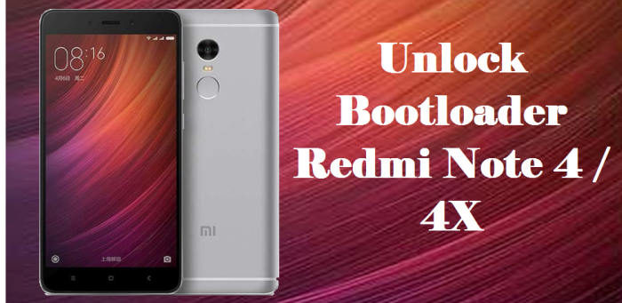 How To Unlock Bootloader Redmi Note 4 / 4X Without Permission