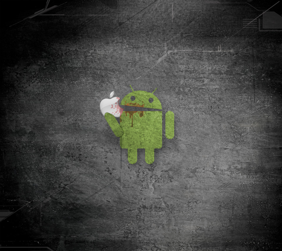 Image Result For Wallpaper Android Eating Apple