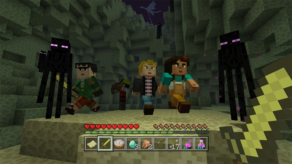Minecraft Story Mode Skin Pack Is Now Available For All Versions Of - Descargar skins para minecraft pe gamer