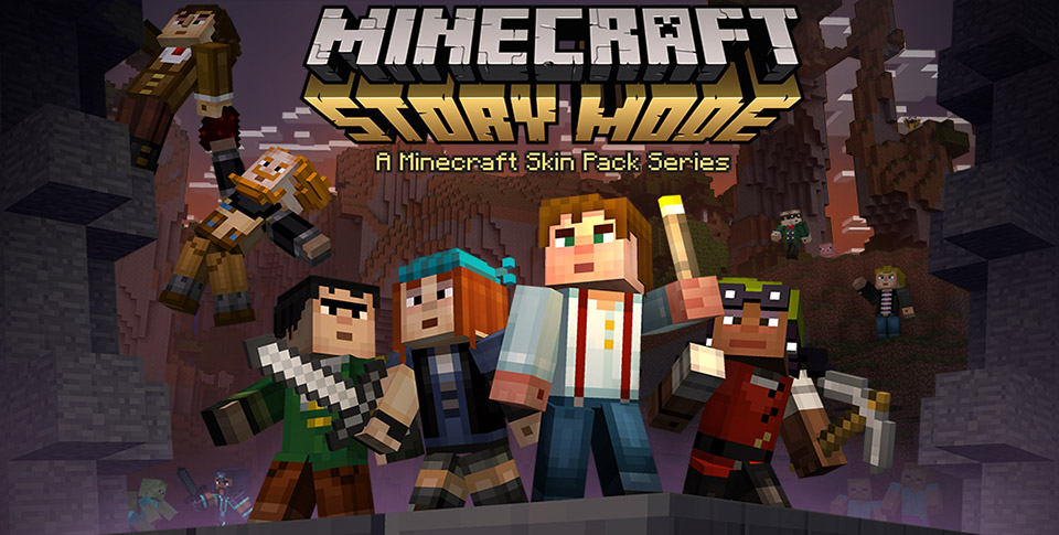 Minecraft Story Mode Skin Pack Is Now Available For All Versions Of - Skins para minecraft pc descargar