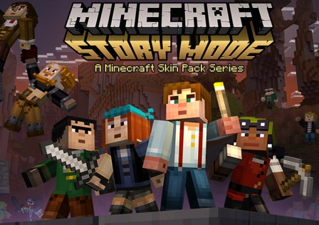 Minecraft-Story-Mode-Pocket-Edition-Skin-Pack-Android