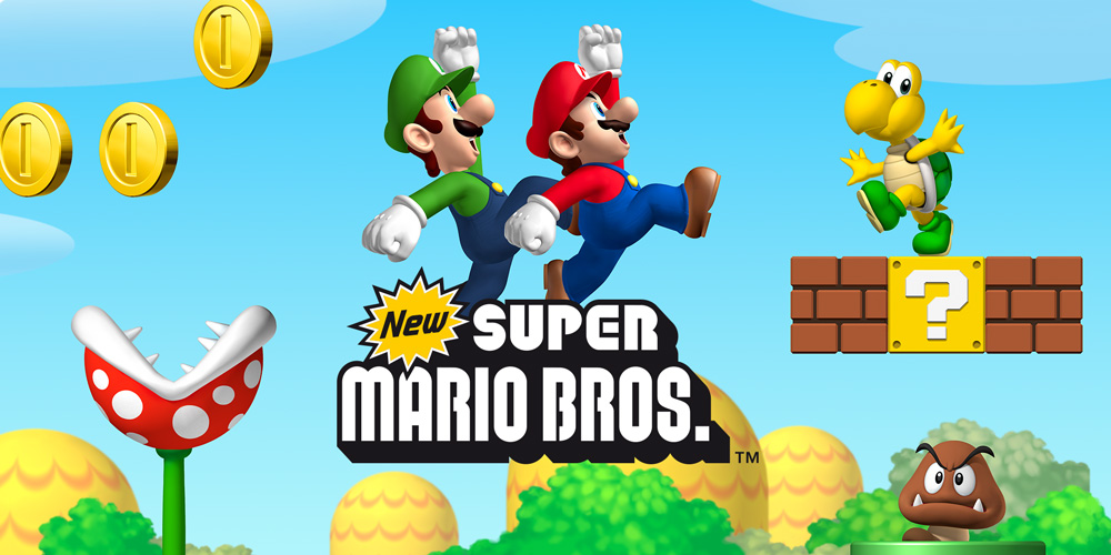 New Super Mario Bros. Android Wii