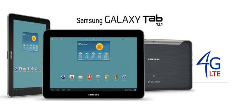 Samsung Galaxy Tab 10.1 4G LTE now available at U.S. Cellular