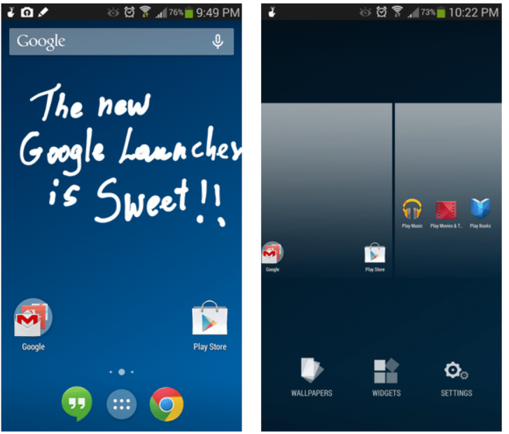 [apk] Get the new Android 4.4 KitKat Google Experience Launcher, Hangouts v2