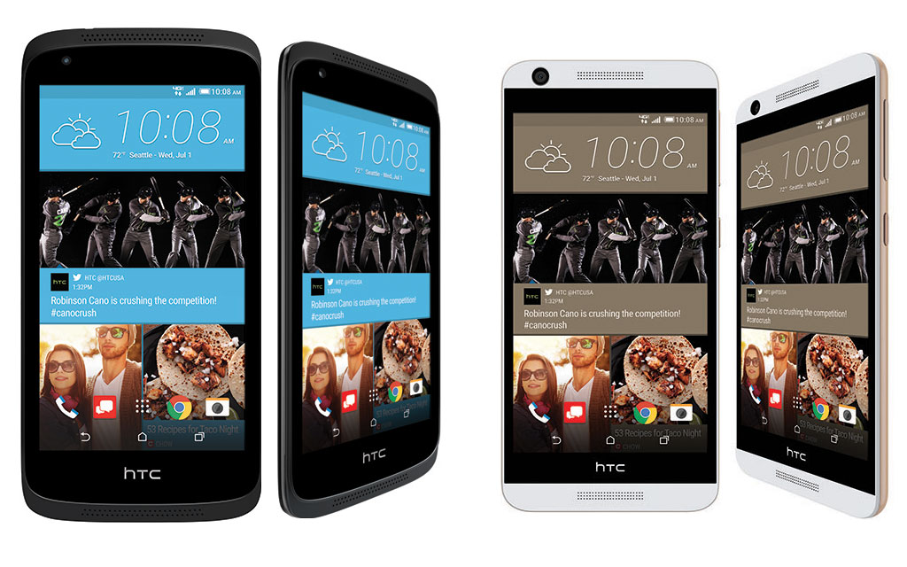 [Press Release] Budget friendly HTC Desire 536 and 626 handsets heading to Verizon