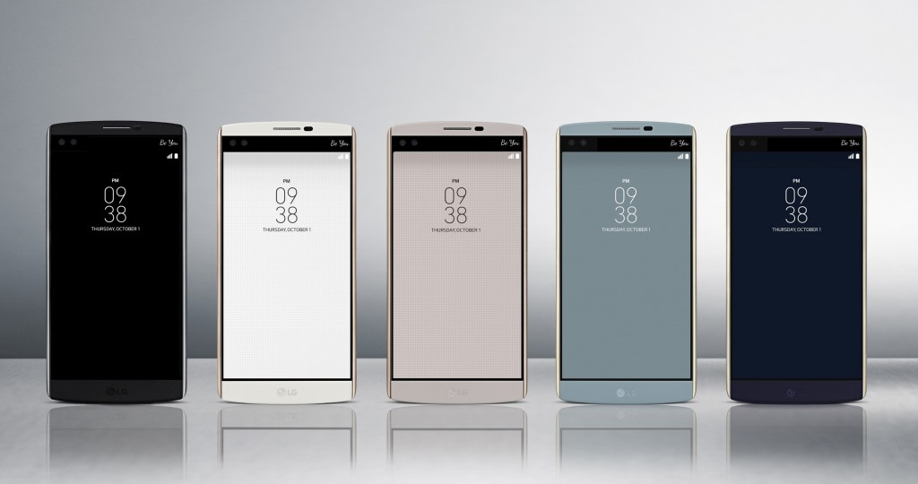 [Official] LG launches the LG V10 with double display, dual front cameras in tow