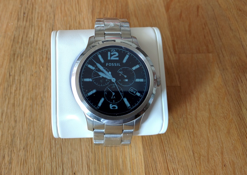 [Unboxing] Fossil Q Founder Smartwatch First Impressions