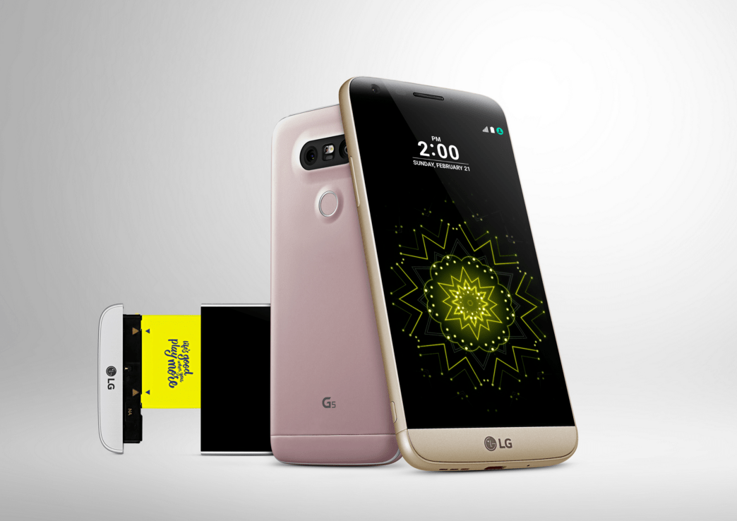 LG makes the LG G5 official with some neat accessories called LG Friends