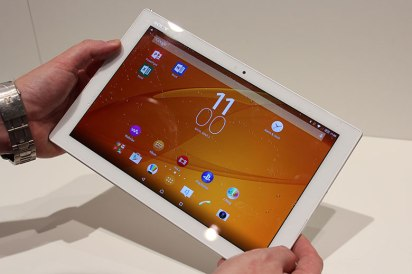 Sony Xperia Z4 Tablet. @Droidopinions