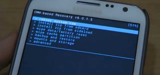 Install CWM Custom Recovery on Galaxy Note 2 N7100