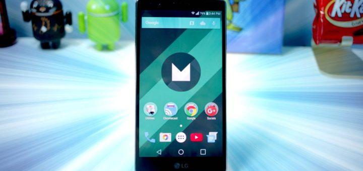 update LG G4 to Marshmallow