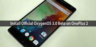 Oxygen OS 3.0 Beta on One Plus 2