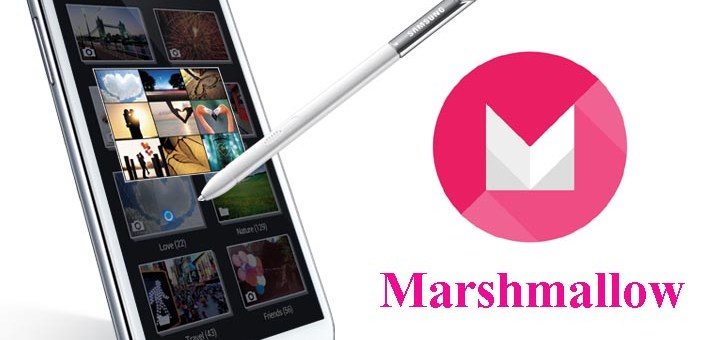 Note 2 N7100 to Marshmallow Slim6