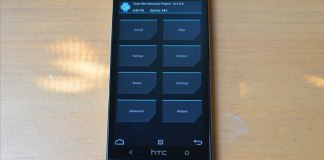 twrp custom recovery on htc one m7