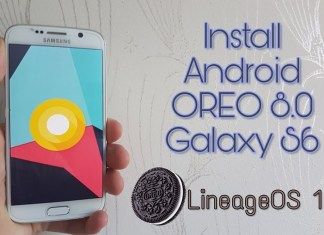 lineageOS 15 8.0 for Galaxy S6