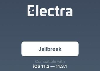 Electra Jailbreak for iOS 11.3.1 ipa