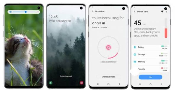 android 10 one ui 2.0 features