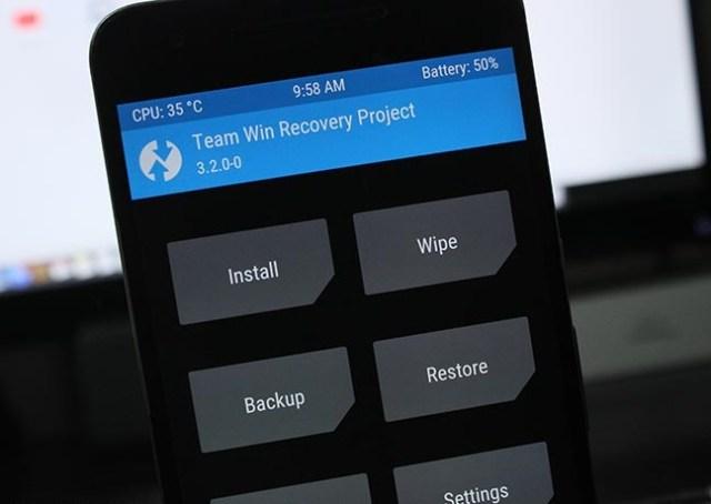twrp recovery nokia 7.2
