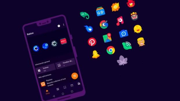 unique launchers for android